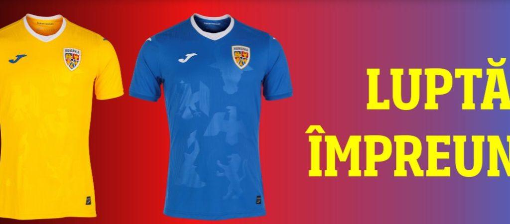Noile tricouri ale echipei naționale